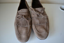 Salvatore Ferragamo Florence Suede Loafer Size 8.5 Brand new Gray