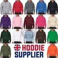 UK Hoodie Supplier Gildan Adults Hoodys NEW Plain Wholesale All Colours SALE