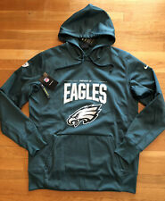Nike Philadelphia Eagles Mens Hoodie Size Large Nwt Therma AO4215-339