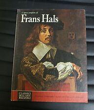 Classici dell'arte Rizzoli - l'opera completa di Frans Hals - numero 76