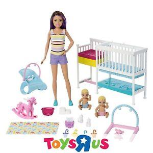 Barbie Skipper Babysitters Inc Doll & Playset - Nap 'N' Nurture