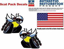 1970 1971 1972 DODGE Dart Charger Super Bee R/T SCAT PACK DECALS Licensed