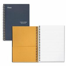 "Mead Personal Wirebound Notebook - 100 Sheet - 5"" X 7"" - 1 Each - Assorted Paper"