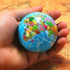 World Map Foam Earth Globe Stress Relief Bouncy Ball Atlas Child Toy 1pc