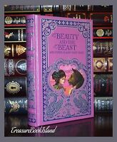 Beauty & The Beast and Other Classic Fairy Tales New Leather Bound Sealed Deluxe