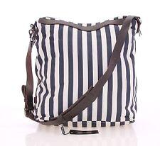 NEW $800 DOLCE & GABBANA Men Logo Cotton Leather Shoulder Gym Weekend Travel Bag