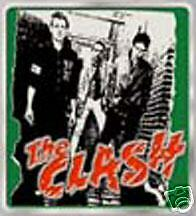 The Clash ~ Green Pewter Belt Buckle