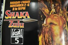 Shaka Zulu, Original TV Movie Poster