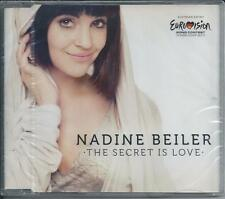 NADINE BEILER - The secret is love CD SINGLE 2TR EUOVISION 2011 AUSTRIA (SEALED)