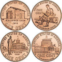 2009 Lincoln Cents Complete Bicentennial 8 Uncirculated Penny Coin Set whotoldya