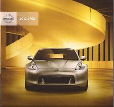 2012 12  Nissan 370Z original sales brochure