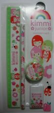 KIMMI*JUNIOR-FRIENDS ARE FUN STATIONERY PACK GREEN KJS0120