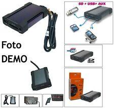 Xcarlink USB SD MP3 WMA AUX IN + BT per Toyota Aygo e Citroen C1 e Peugeot 107