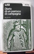 Nicola Lisi DIARIO DI UN PARROCO DI CAMPAGNA / 1973 Vallecchi TV - 11