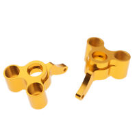 2Pcs/Set 166012 06045 Rear Hub Carriers Gold (R/L) for 1:10 HSP RC Buggy