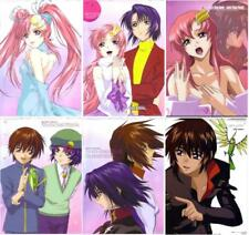 64 pcs pencil board shitajiki set Gundam seed destiny anime Lacus Athrun kira