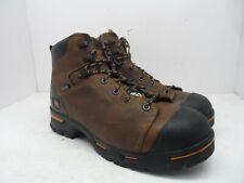 "Timberland PRO Men's 6"" Endurance PR Waterproof Steel-Toe Work Boot Brown 11W"