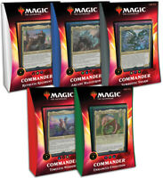 MTG - Commander 2020 - Set of all 5 Decks (Factory Sealed)