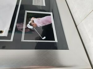 Rory McIlroy Framed Signed Flag Players Championship 2019