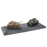 "World of Tanks LV05 Pz.Kpfw.IV Ausf.G Vs M3 ""Lee"" Kasserine Pass 1943 1:72 Scale"
