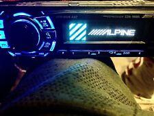 Alpine CDA-9886 CD Player In-Dash Car Radio Flip-Down face