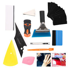 11 in 1 Wrap Vinyl Squeegee Felt Kit Car Window Tint Application Tools Film UK