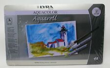 Dixon Lyra Aquacolor Water-Soluble Crayons 48 kg-Assorted Colors