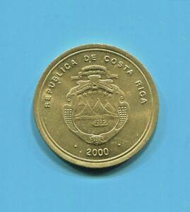 COSTA RICA - FANTASTIC COPPER-ALUMINUM-NICKEL 100 COLONES, 2000 (a) KM# 240