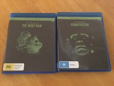 Two Classic Monster Movies, Wolfman And Frankenstein