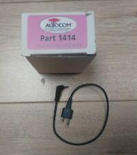 Autocom plomo parte 1414 Twin Icom Enchufe a 3.5mm conector Jack de 4 polos