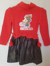 Wunderschönes Mädchenkleid schwarz/rot Gr. 98/104 neu