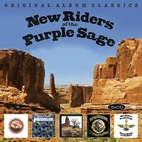 NEW RIDERS OF THE PURPLE SAGE - ORIGINAL ALBUM CLASSICS  5 CD NEW+
