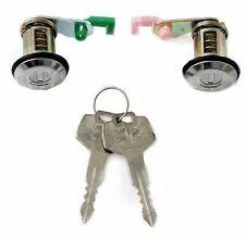 NISSAN MICRA K11 1993 - 2003 FRONT DOOR LOCK BARRELS DRIVER & PASSENGER