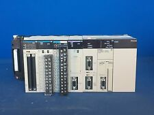 Omron PLC SYSMAC CS1G Programmable Controller, Power Supply PD024 + Modules