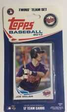 2013 Topps MINNESOTA TWINS Complete 17 Card Team Set