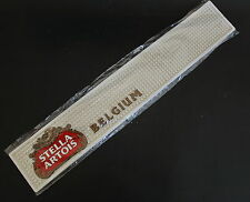 Stella Artois Belgium  Beer Rubber Pub/Bar Pad / Mat / Spill Rail NEW