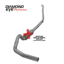 "Diamond Eye For 94-97 Ford 7.3L 4"" Aluminized Turb0 Back Exhaust Kit - K4307A-RP"