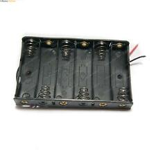 6 Cell Battery Case Holder - Great for prototyping, Arduino, Robotics, RC