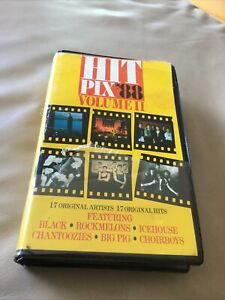 Hit Pix 88 ~ Volume II ~ VHS Clamshell 1988 ~ Choirboys Jimmy Barnes Icehouse