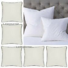 """Quality Duck Feather Cushion Pads Filled Pillow Inserts Pack 16"""" 18"""" 20"""" 22"""" 24"""""""