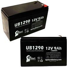 2-pack Apc be750g Battery UB1290 12V 9Ah Sealed Lead Acid SLA AGM