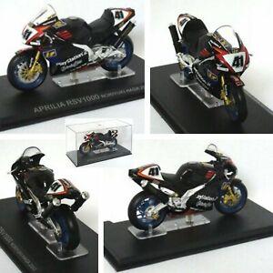 NORIYUKI HAGA, 2002 APRILIA RSV1000. World Superbike Championship. 1/24 model