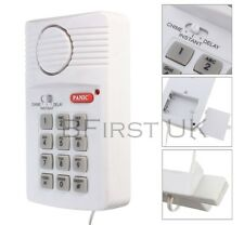 Wireless Security Keypad Door Burglar Alarm System Home Office House Shed Garage