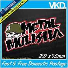 Metal Mulisha Sticker/ Decal - Supercross Motocross Quad Moto 4x4 Ute MX MTB FMX