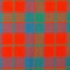 Robertson Red Ancient Tartan Fabric 16oz 100% Pure Wool