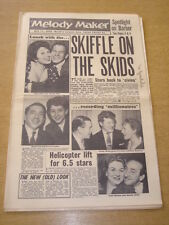 MELODY MAKER 1958 MAY 17 SKIFFLE ALMA COGAN JOHNNIE RAY MANTOVANI PETULA CLARK +
