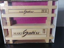 Sushi Maker by Maki Sushi Ki Wood Large & Small Makers New Sealed !