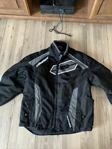 Castle X Racewear Switch Black Jacket Size Small