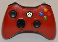 Genuine Microsoft Xbox 360 Limited Edition Red Resident Evil Wireless Controller