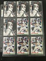 9 Card Ronald Acuna Jr Braves lot 2019 Topps Holiday Christmas + Base HW85 LOT